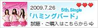 2009.7.26 5th.Single「ハミングバード」